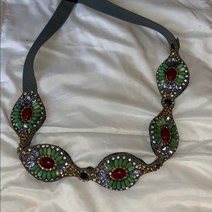 Anthro elastic decorative belt